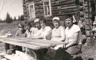 """Доника АД, июнь 1989, Арендное звено из Няндского отделения совхоза """"Козьминский"""""""