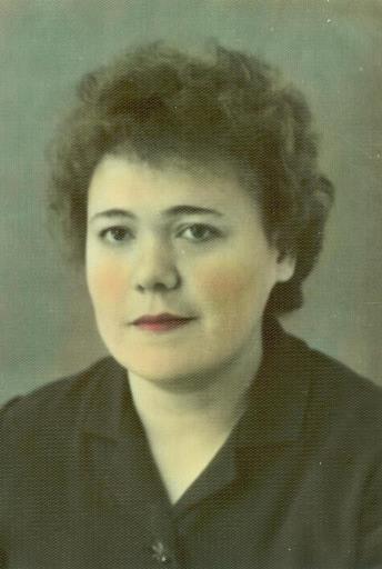 Дорофеева (Дуракова) Нина Александровна, сплав-участок 1973-91 п.Витюнино.