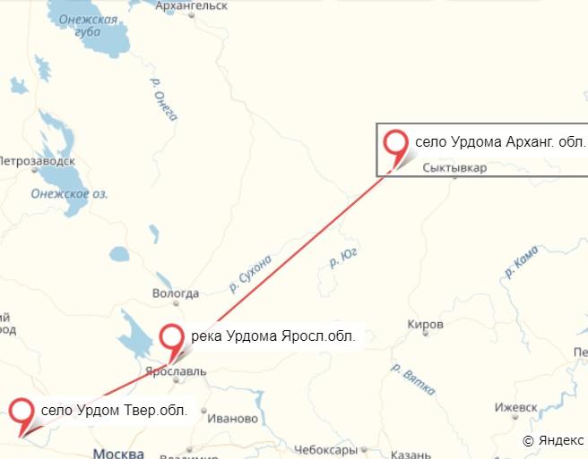 Фрагмент Яндекс Карты от 18.01.2018.