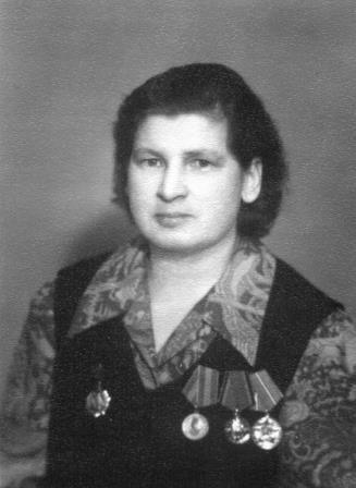Кондрашова Антонина Ивановна,ВОВ.