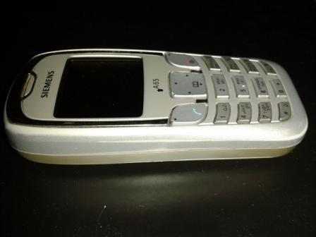 Один из первых мобильных телефонов, купленных в Урдоме перед самым Новым 2005 годом.