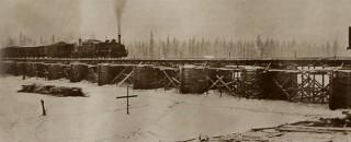 Мост через реку Вычегда
