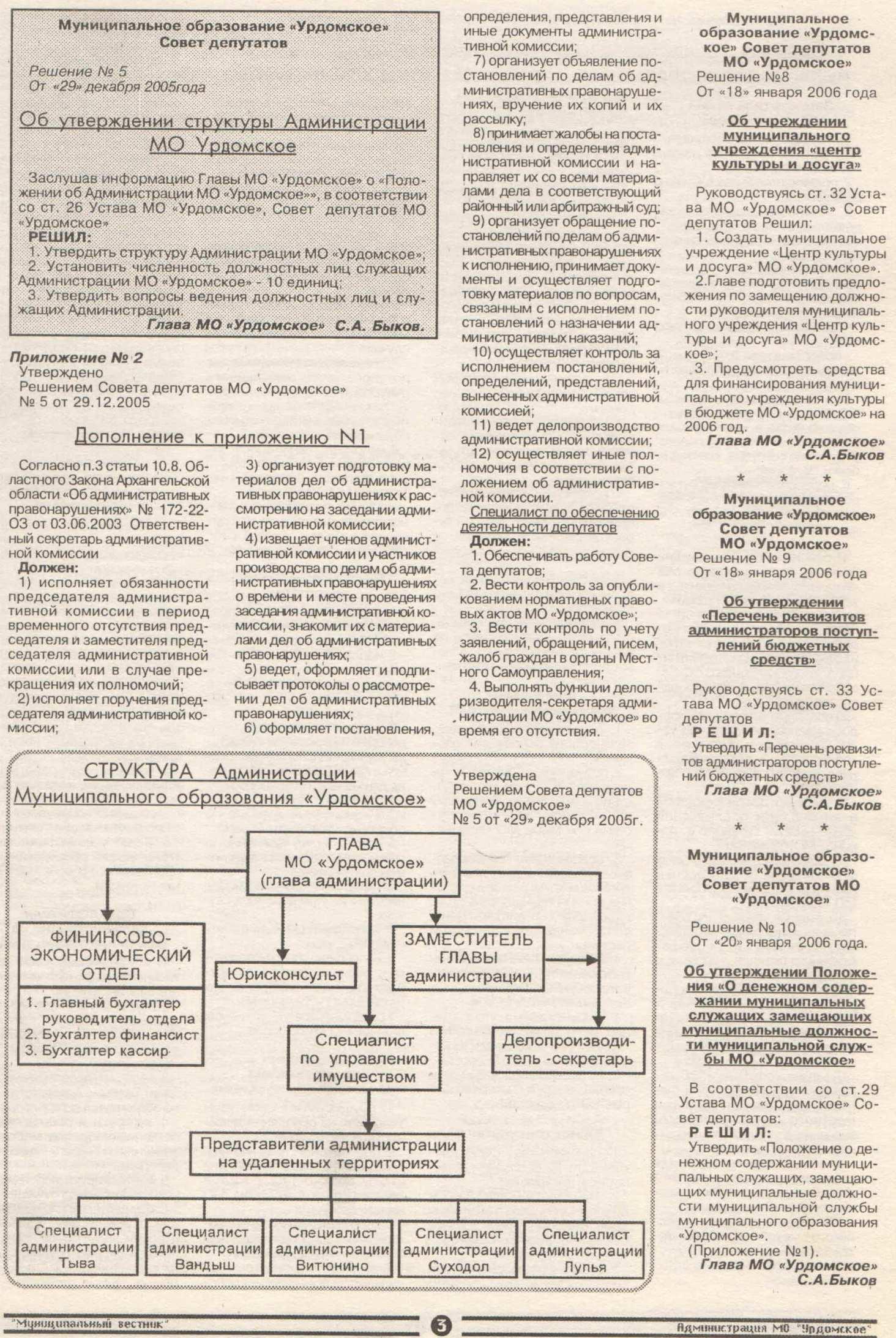 Муниципальный вестник 1 от 04 мая 2007 (3)