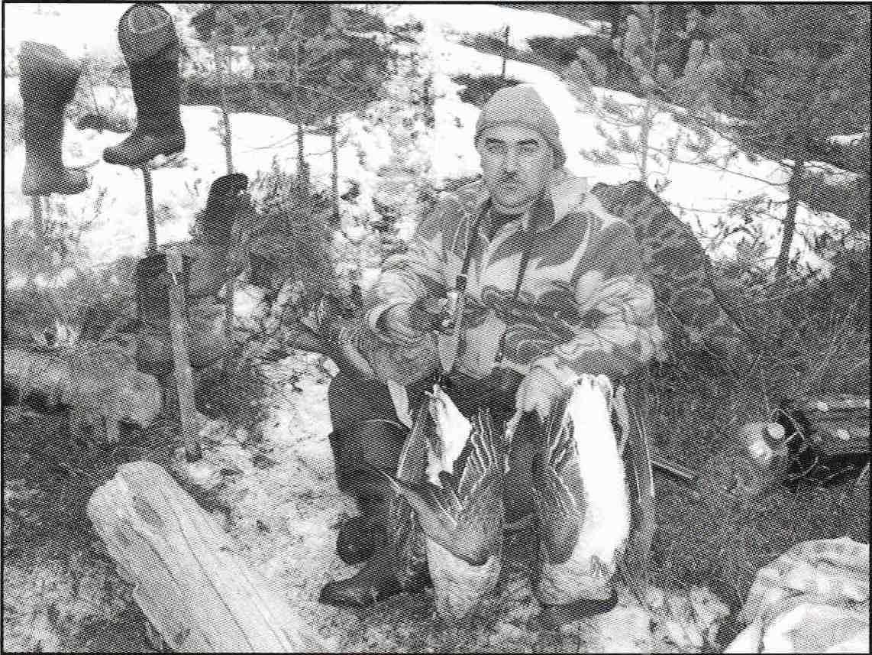 Охотник Олег Александрович Бычков.