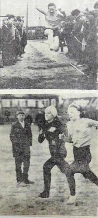 Районная спартакиада писонеров и школьников, 1968, Маяк