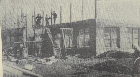 1) 1965-68. УСШ. Строительство школьных мастерских, столовой, клуба.