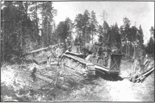 Трактор Сталинец С-80.