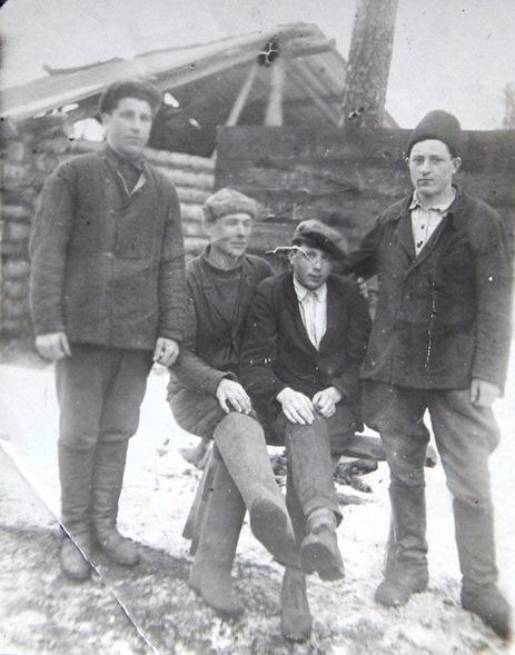 Участок Суропья Вандышского лесопункта. 1939 год.