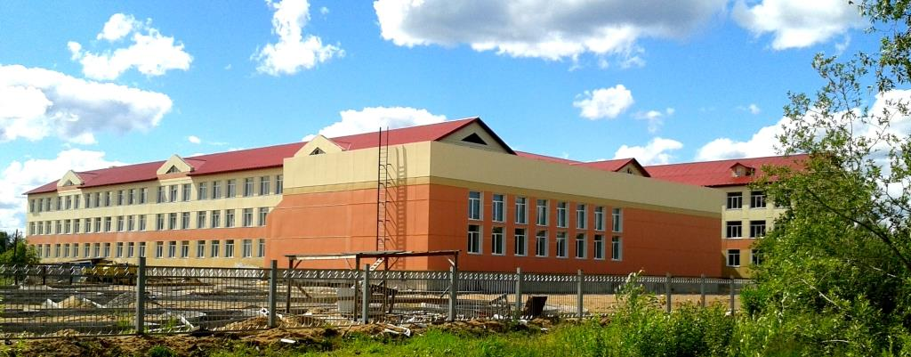Урдома. Новая школа. Фото 19.06.2015.