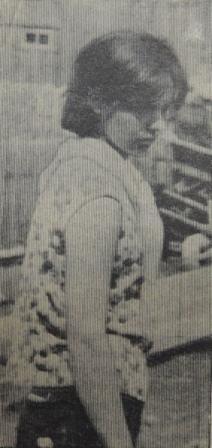 Валя Крючкова, строительство школьного клуба, 29.06.1968