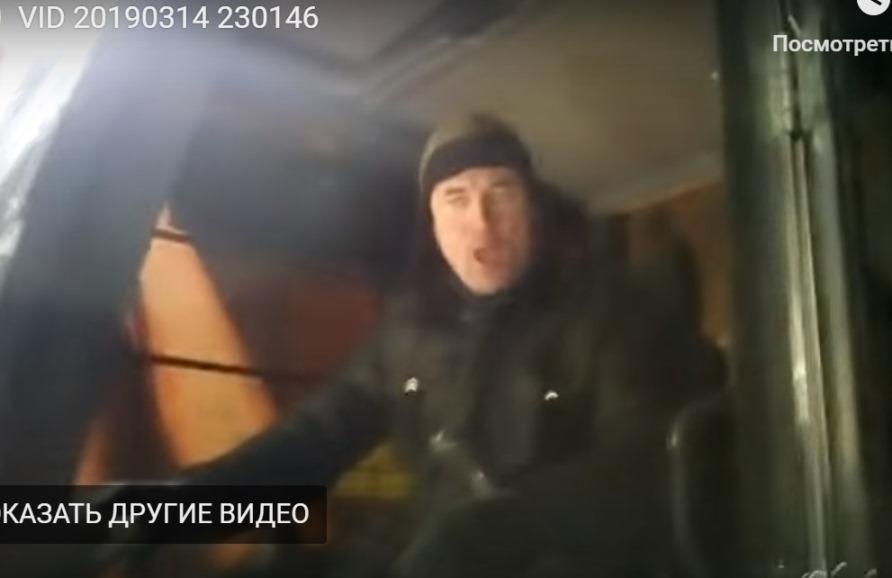 14.03.2019, близ ст.Шиес. А.М.Козлов за рычагами экскаватора
