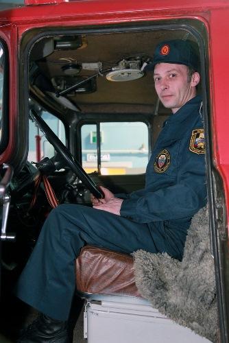 Январь 2014. Пожарная часть ПЧ-72. Урдома.  (10)
