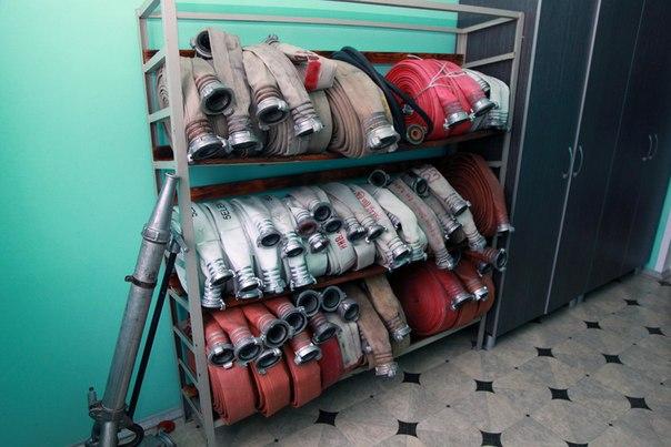 Январь 2014. Пожарная часть ПЧ-72. Урдома.  (2)