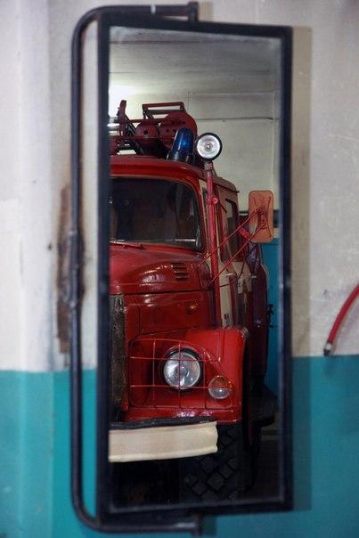 Январь 2014. Пожарная часть ПЧ-72. Урдома.  (3)