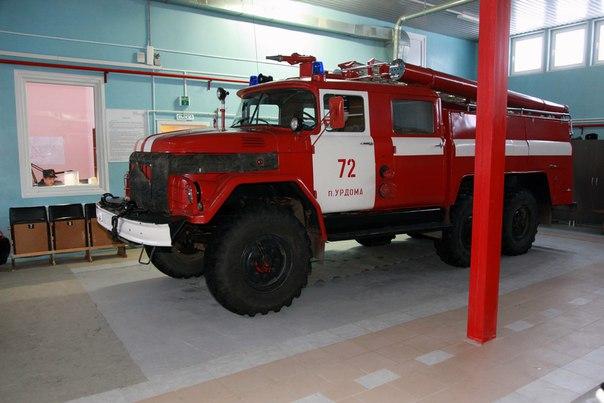 Январь 2014. Пожарная часть ПЧ-72. Урдома.  (4)