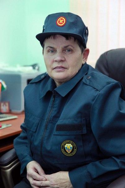 Январь 2014. Пожарная часть ПЧ-72. Урдома.  (7) Тыргоалэ Любовь Афанасьевна.