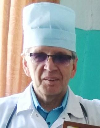 июнь 2019, п.Урдома. Леушев Николай Геннадьевич, врач-терапевт Урдомской больницы