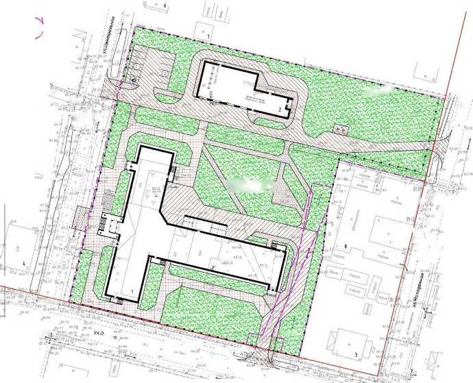 октябрь 2020. Проект больницы в п. Урдома на 16 стационарных коек и 7 коек дневного стационара